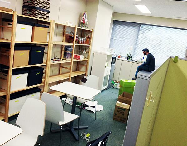 オクヤマデザインの新事務所