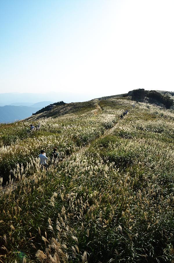 生石高原の風景