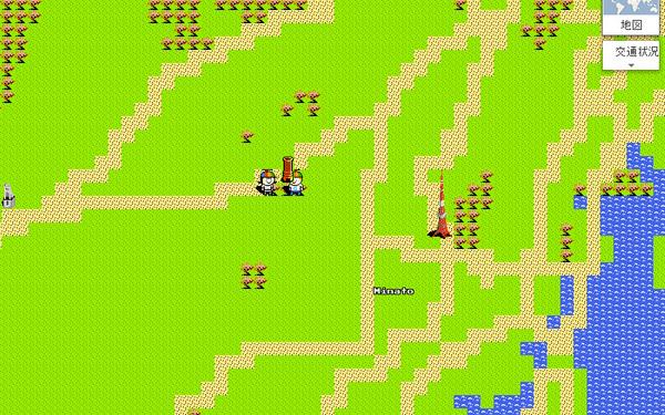Google マップ エイプリルフール