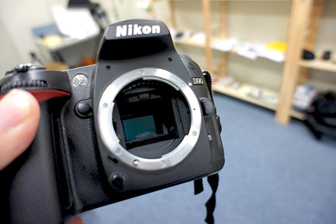 D90のイメージセンサー(撮像素子)